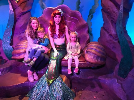 Liam wasn't as in to meeting Ariel as I was